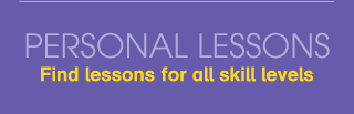 Personal Lessons - Find lessons for all skill levels